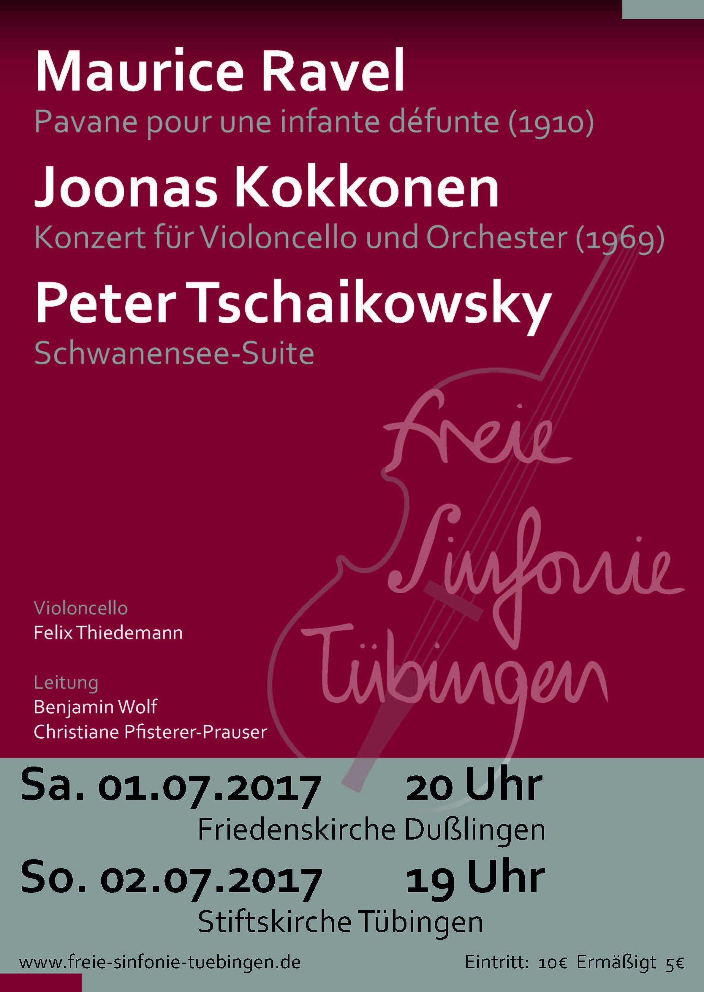 Freie Sinfonie Plakat Winter 2015