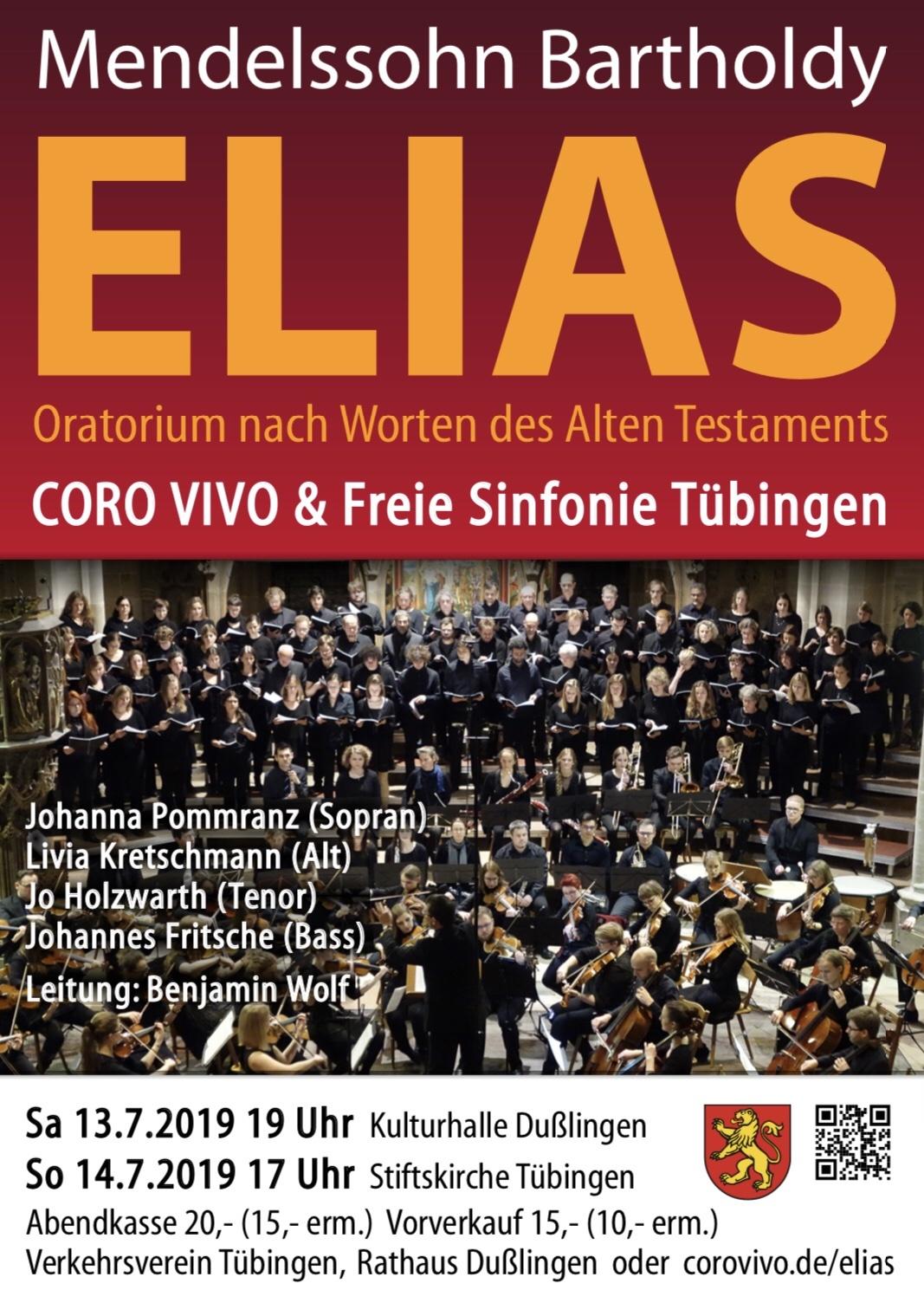 Elias – Sommerkonzert mit dem Coro Vivo